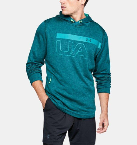Tøj - Under Armour MK-1 Terry Graphic Hoodie - Green