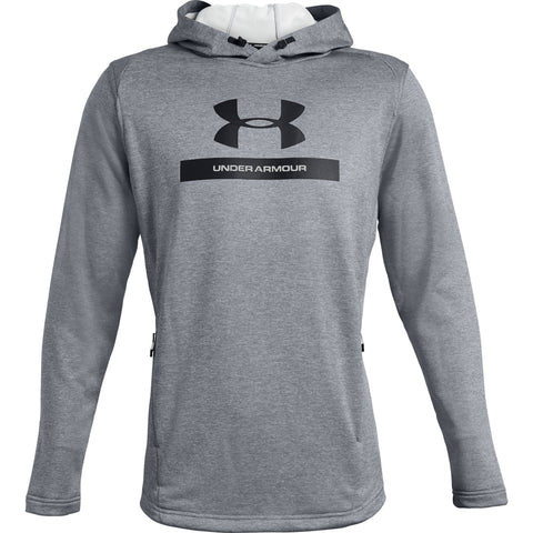 Tøj - Under Armour MK-1 Terry Graphic Hoodie - Steel