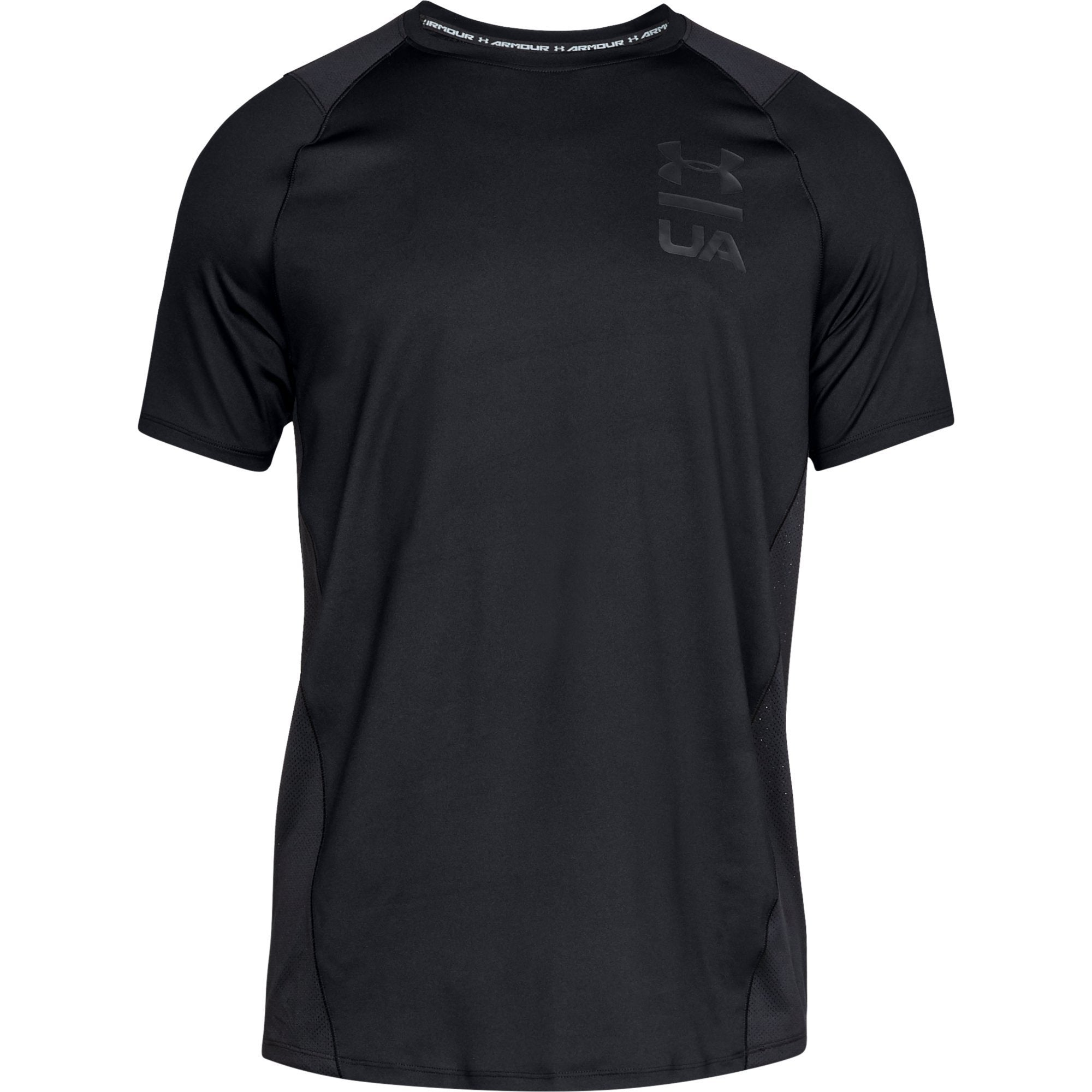 Under Armour Mk1 SS Logo Graphic - Black
