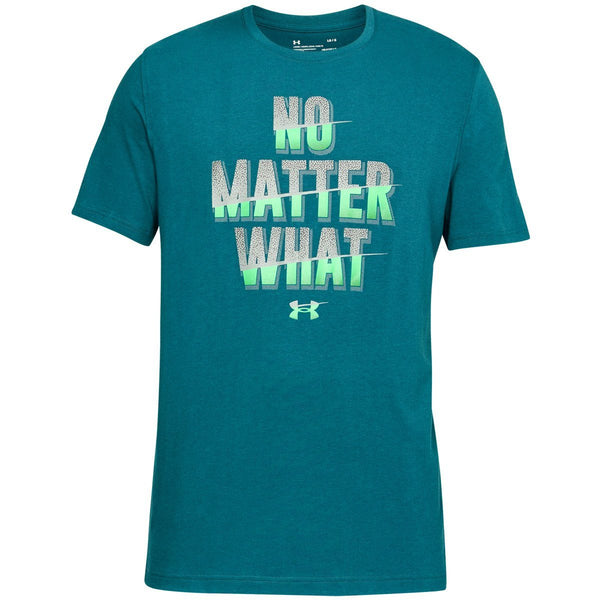 Tøj - Under Armour No Matter What - Teal