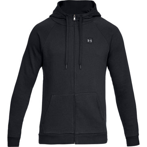 Tøj - Under Armour Rival Fleece FZ Hoody - Black