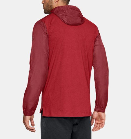 Under Armour Sportstyle Wind Anorak - Red