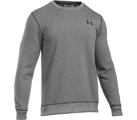 Tøj - Under Armour Storm Rival Crew -Dark Grey