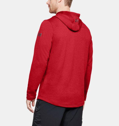 Under Armour Tech Terry PO Graphic Hoodie - Red Pierce