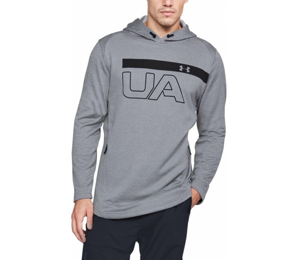 Billede af Under Armour Tech Terry PO Graphic Hoodie - Steel