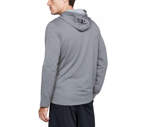 Under Armour Tech Terry PO Graphic Hoodie - Steel
