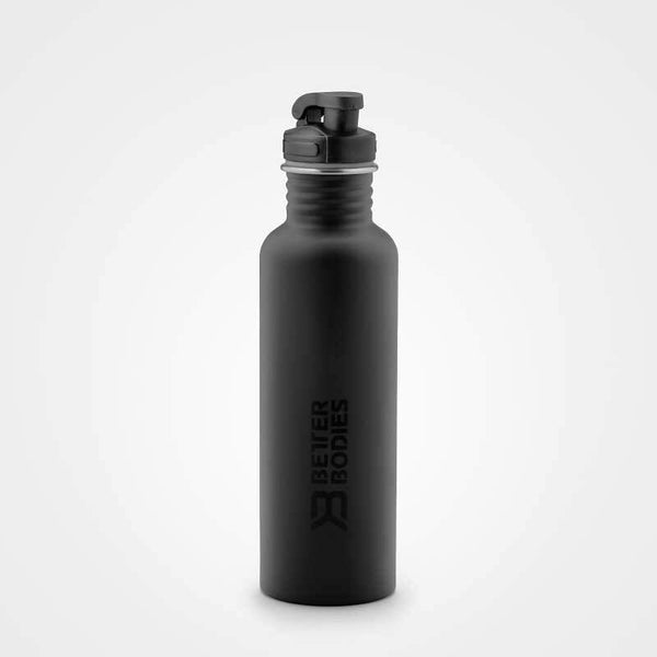 Better Bodies Fulton Bottle 750ml Black - Musclehouse.dk