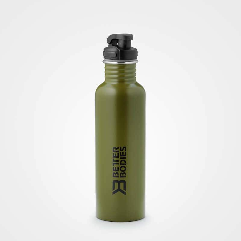 Image of   Better Bodies Fulton Bottle 750ml Green