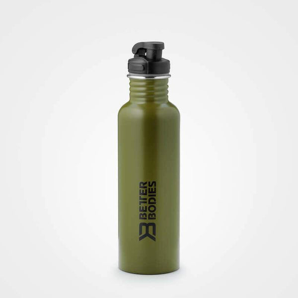 Better Bodies Fulton Bottle 750ml Green - Musclehouse.dk