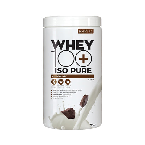 Bodylab Whey 100 ISO Pure (750g) - Musclehouse.dk