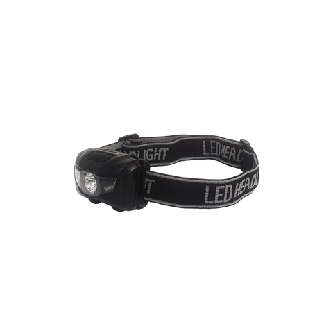 Standard 3W Head Torch - with RED LIGHT!