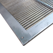 Stainless Steel Queen Excluder with SS Rim