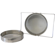 Double Layer Honey Filter - Stainless Steel