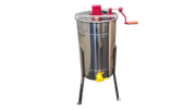 2 Frame Manual Honey Extractor. 304 Grade Stainless Steel