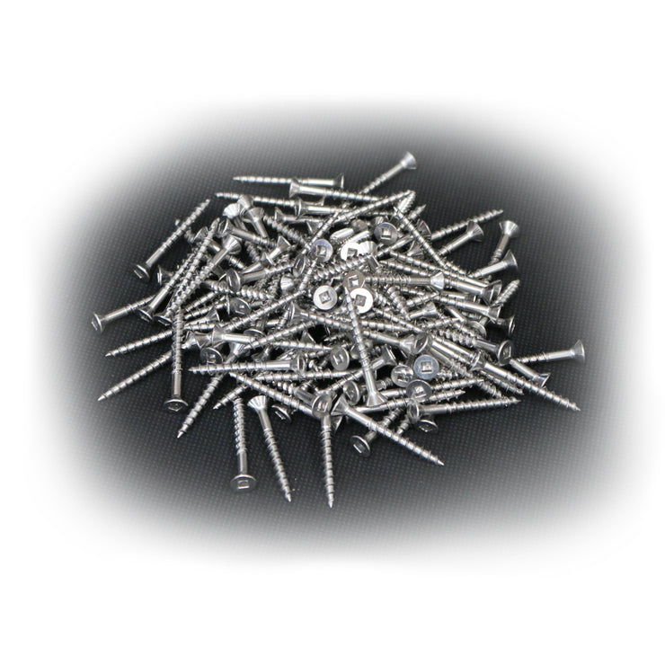 Screws for Boxes - Packet 125 (Stainless Steel)