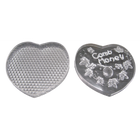 Heart Shape Comb Honey Container with Lid.