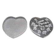 Heart Shape Comb Honey Box with Lid