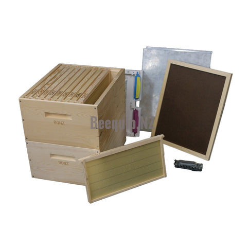 Russian Pine Package Beehive 26d - Wax Dipped