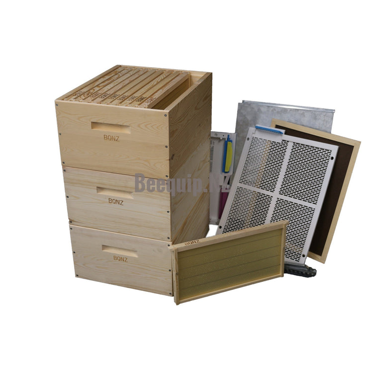 Russian Pine Beehive Package 27d - Wax Dipped