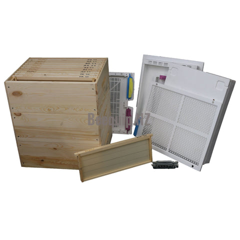 Russian Pine Beehive Package 322d - Wax Dipped