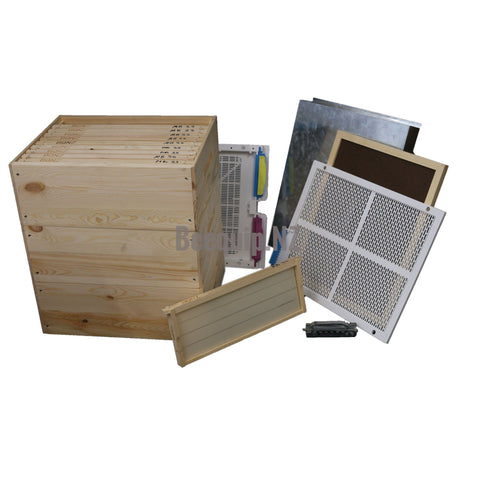 Russian Pine Beehive Package 327d - Wax Dipped