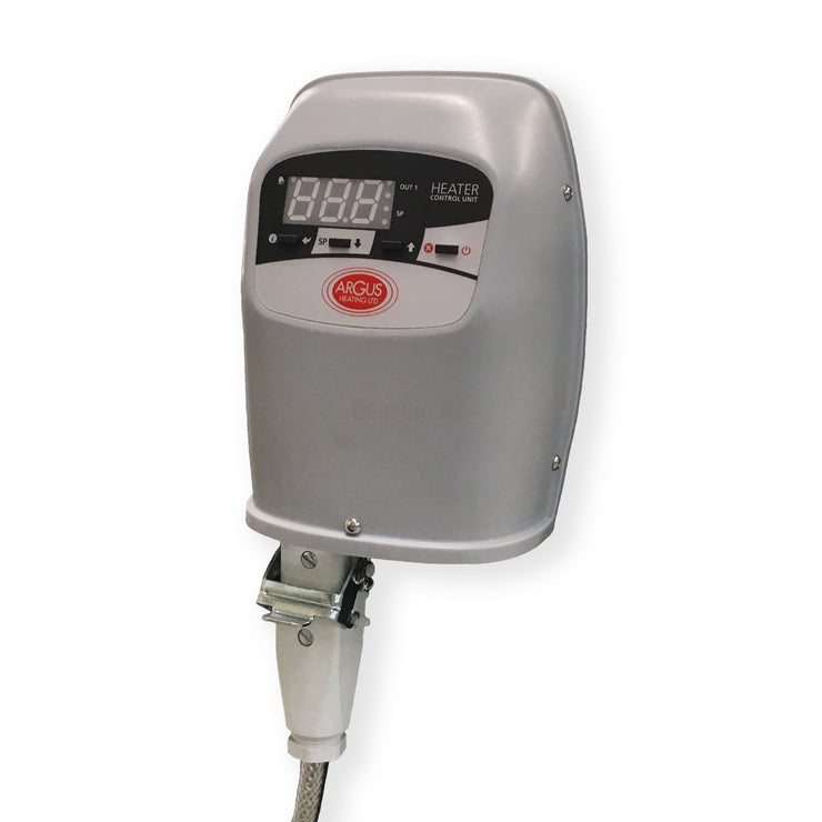Flexible Silcone drum heater with an adjustable electronic controller