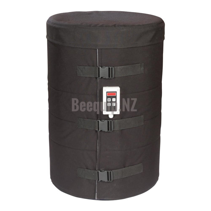 Drum Heater Jacket with insulated lid and electronic thermal-couple controller