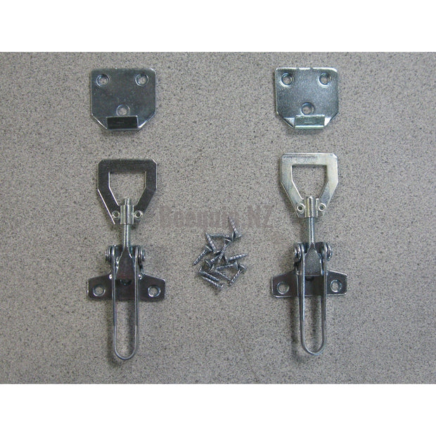 Hive Latch Set with Long Lever (pair)