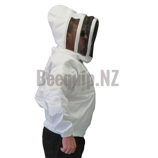 Bee Jacket with vents - White S