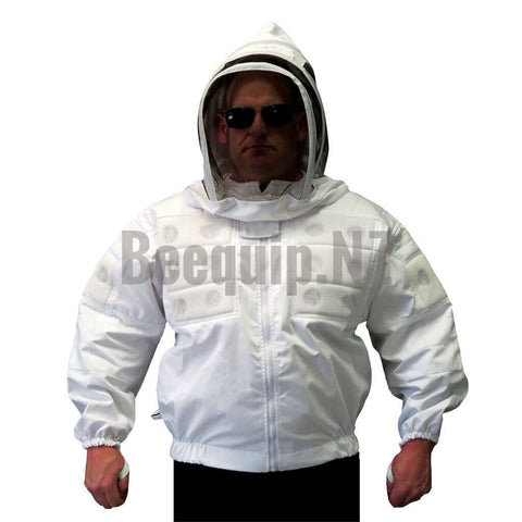 Bee Jacket with Air Vents - White