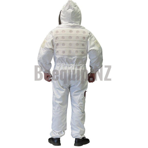 Bee Suits with Vents - White XS
