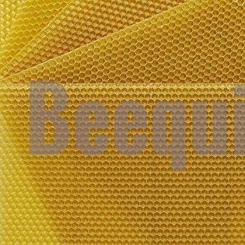 Beeswax Comb Foundation. Thin Super for Technosetbee No.2 Cut Comb Honey Frame