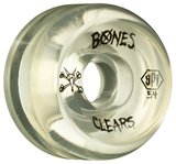 BONES WHEELS (JEU DE 4) SPF P5 CLEAR NATURAL