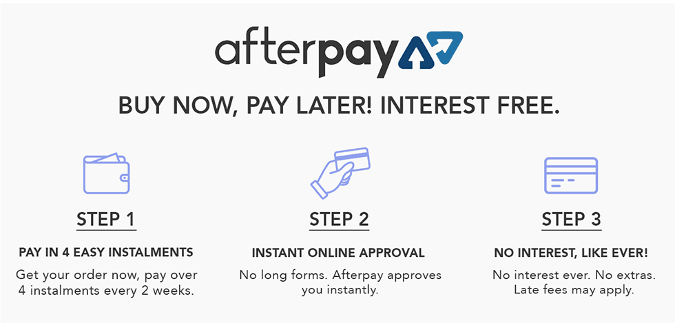 Weddings | Events | Afterpay