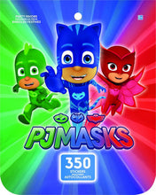 Load image into Gallery viewer, Jumbo PJ Masks Sticker Book