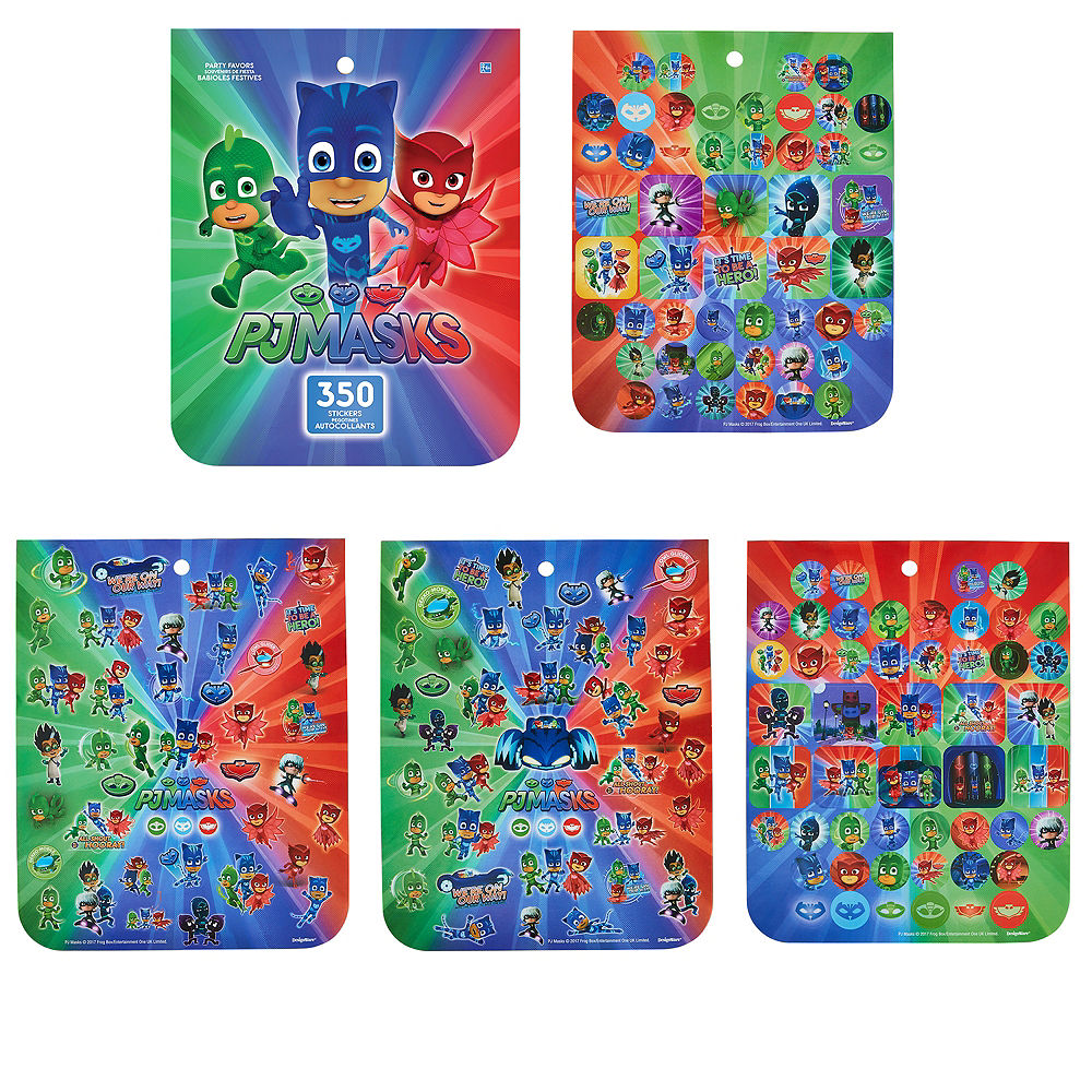 Jumbo PJ Masks Sticker Book