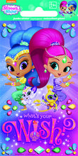 Load image into Gallery viewer, Jumbo Shimmer & Shine Favour Stickers