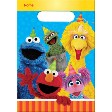 Sesame Street Party Loot Bags