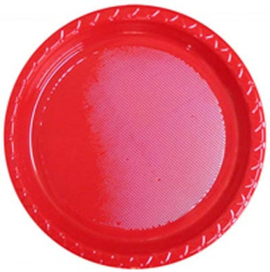 Apple Red Banquet Plates