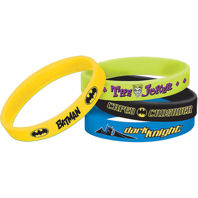 Batman Rubber Bracelet Favours