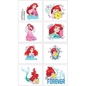 The Little Mermaid Temporary Tattoo Favours