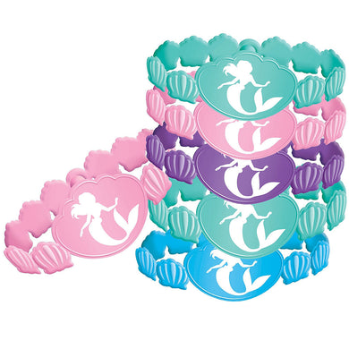 The Little Mermaid Rubber Bracelet Favours