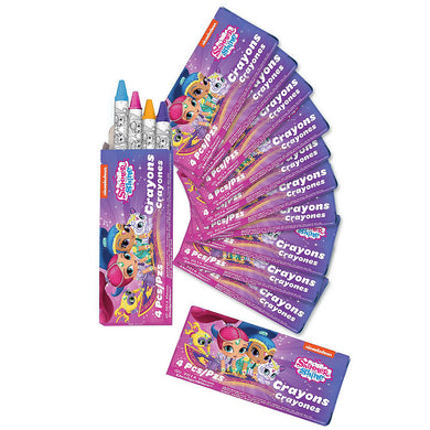 Shimmer & Shine Crayon Box Favours