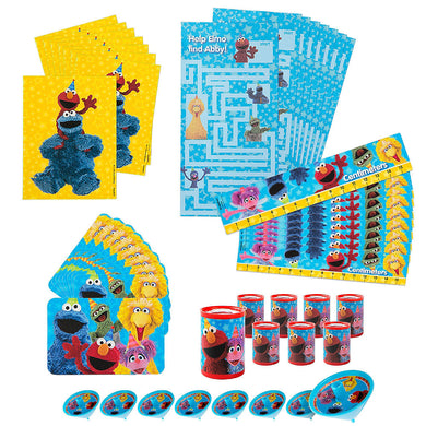 Sesame Street 48pc Favour Pack