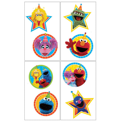 Sesame Street Temporary Tattoo Favours