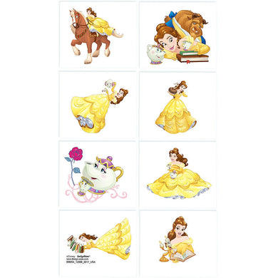 Beauty & The Beast Temporary Tattoo Favours