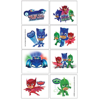 PJ Masks Temporary Tattoos