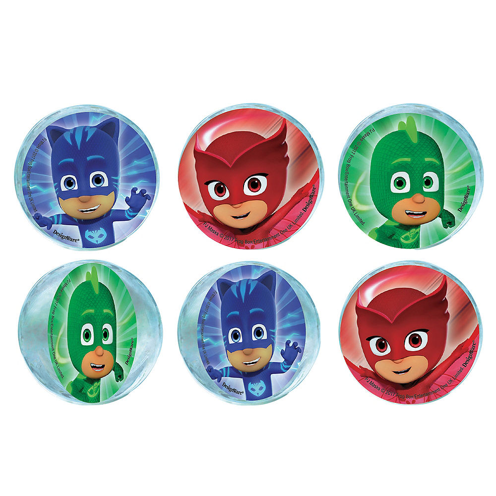 PJ Masks Bouncy Ball Favours