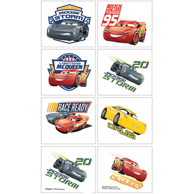 Cars Lightning McQueen Temporary Tattoo Favours