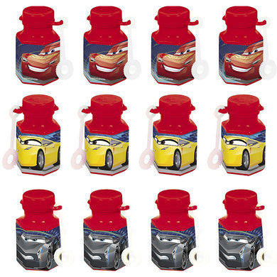 Cars Lightning McQueen Mini Bubble Favours
